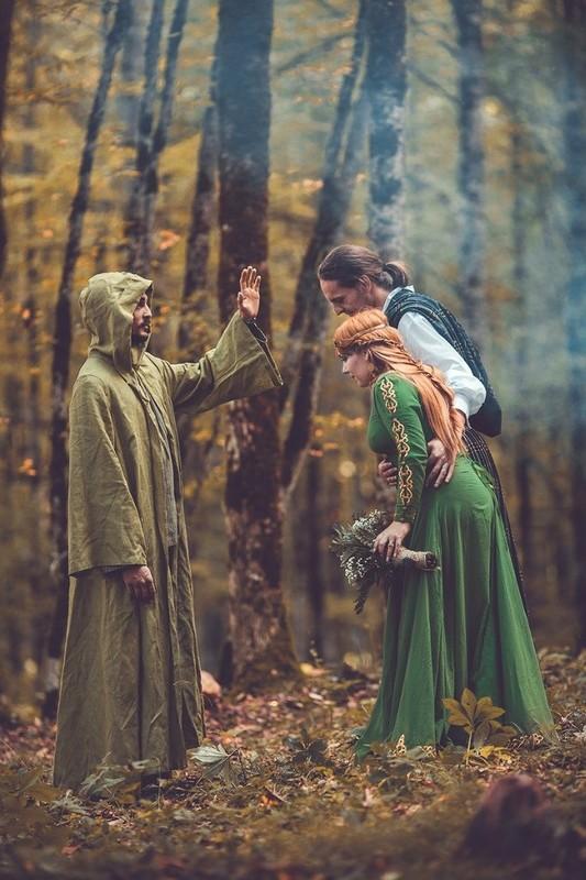 Ceremonia Boda Celta